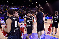 New Zealand Tall Blacks' Shea Ili, FIBA World Cup Basketball Qualifier - NZ Tall Blacks v Jordan at Horncastle Arena, Christchurch, New Zealand on Thursday 29 November  2018. <br /> Photo by Masanori Udagawa. <br /> www.photowellington.photoshelter.com