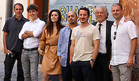 """20120625 ROMA-SPETTACOLO: PHOTOCALL DEL FILM  """"QUALCHE  NUVOLA"""""""