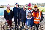 Margaret and Tom O'Connor (Killarney), Tracy O'Gorman (Moyvane), Karen McKenna (Killarney), Kelly and Bernie Hayes (Tralee) at the Operation Transformation for the National Walk Day in the Wetlands on Saturday.