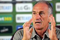 Pictured: Swansea manager Francesco Guidolin Thursday 18 August 2016<br /> Re: Swansea City FC press conference ahead of the Swansea v Hull game, Liberty Stadium, Wales, UK