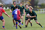 NELSON, NEW ZEALAND - AUGUST 1: Rugby U16 Waimea College v Takaka HS, Waimea College, Nelson, 1st August, New Zealand. (Photos by Barry Whitnall/Shuttersport Limited)