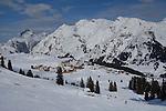 Oberlech above Lech Ski Area, St Anton, Austria
