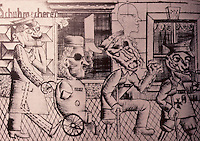 """Otto Dix: """"War Criminals"""" 1920.  Reference only."""