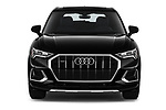 Car photography straight front view of a 2019 Audi Q3 Premium Plus 5 Door SUV