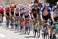 11th July 2021, Ceret, Pyrénées-Orientales, France; Tour de France cycling tour, stage 15, Ceret to  Andorre-La-Vieille;   VAN AERT Wout (BEL) of JUMBO - VISMA during stage 15 of the 108th edition of the 2021 Tour de France cycling race, a stage of 191,3 kms between Ceret and Andorre-La-Vieille