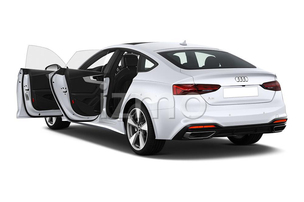 Car images of 2021 Audi A5-Sportback Design 5 Door Hatchback Doors