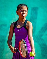 Hilversum, Netherlands, August 6, 2018, National Junior Championships, NJK, Noa Wong (NED)<br /> Photo: Tennisimages/Henk Koster