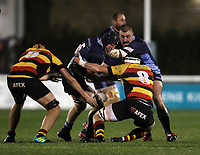 Match action during the Greene King IPA Championship match between London Scottish Football Club and Richmond at Richmond Athletic Ground, Richmond, United Kingdom on 9 November 2018. Photo by Harry Hubbard.