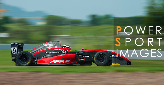 Thomas Luedi of BlackArts Racing (KCMG) drives during the 2015 AFR Series as part of the 2015 Pan Delta Super Racing Festival at Zhuhai International Circuit on September 19, 2015 in Zhuhai, China.  (Photo by Moses Ng/ Power Sport Images/Getty Images)