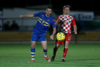 Steve Carvell of Romford during Romford vs Tilbury, Pitching In Isthmian League North Division Football at Mayesbrook Park on 29th September 2021