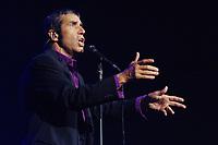 Julien Clerc performs live, at the Zenith, Paris, France, May 18, 2006<br /> Credit : Lionel Moreau/DALLE