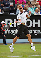 Netherlands, Den Bosch, 16.06.2014. Tennis, Topshelf Open, Thiemo de Bakker (NED)<br /> Photo:Tennisimages/Henk Koster
