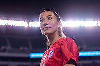PHILADELPHIA, PA - AUGUST 29: Christen Press #23 of the United States walks the field during a game between Portugal and the USWNT at Lincoln Financial Field on August 29, 2019 in Philadelphia, PA.