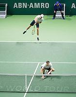 Februari 15, 2015, Netherlands, Rotterdam, Ahoy, ABN AMRO World Tennis Tournament, Jamie Murray (GBR) / John Peers (AUS)<br /> Photo: Tennisimages/Henk Koster