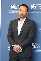 """VENICE, ITALY - SEPTEMBER 10: Ben Affleck attends the photocall of """"The Last Duel"""" during the 78th Venice International Film Festival on September 10, 2021 in Venice, Italy. <br /> CAP/GOL<br /> ©GOL/Capital Pictures"""