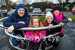Enjoying the playground in the Listowel town park on Sunday, l to r: Donal, Sophie, Chloe and Joanne O'Flaherty