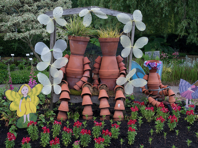 Childrens garden. The Oregon Garden. Silverton, Oregon