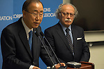 SG Ban Spoke to UNCA on Situation in Paris