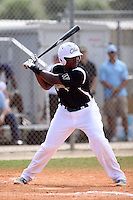 Ke'Bryan Hayes, #21 of Bishop Gorman High School, NV playing for the Ohio Warhawks Team during the WWBA World Championship 2013 at the Roger Dean Complex on October 27, 2013 in Jupiter, Florida. (Stacy Jo Grant/Four Seam Images)
