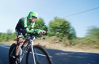 Laurens Ten Dam (NLD)<br /> <br /> Tour de France 2013<br /> stage 11: iTT Avranches - Mont Saint-Michel <br /> 33km