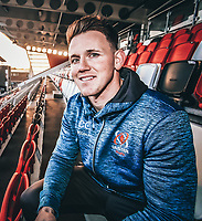 Monday 23rd December 2019 | Ulster Rugby Match Briefing<br /> <br /> Ulster Rugby wing Craig Gilroy at the Match Briefing held at Kingspan Stadium, Belfast ahead of the PRO14 Round 9 inter-pro clash against Connacht at Kingspan Stadium., on Friday 27th December 2019. Photo by John Dickson / DICKSONDIGITAL<br /> <br /> NB - This Is  A Filtered Image