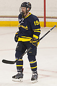 Michael Babcock (Merrimack - 19) - The visiting Merrimack College Warriors defeated the Boston College Eagles 6 - 3 (EN) on Friday, February 10, 2017, at Kelley Rink in Conte Forum in Chestnut Hill, Massachusetts.