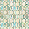 Janus Petite, a waterjet jewel glass mosaic, shown in Aquamarine and Quartz jewel glass, is part of the Illusions™ Collection by New Ravenna.