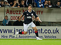 21/09/2010   Copyright  Pic : James Stewart.sct_jsp005_falkirk_v_hearts  .:: CARL FINNIGAN (9) CELEBRATES AFTER HE SCORES FALKIRK'S SECOND :: .James Stewart Photography 19 Carronlea Drive, Falkirk. FK2 8DN      Vat Reg No. 607 6932 25.Telephone      : +44 (0)1324 570291 .Mobile              : +44 (0)7721 416997.E-mail  :  jim@jspa.co.uk.If you require further information then contact Jim Stewart on any of the numbers above.........