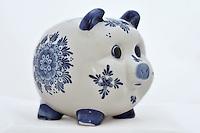 Alcancia. Piggy. Photo: VizzorImage/ Gabriel Aponte / Staff