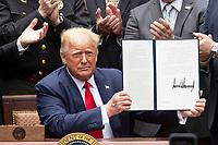 Donald Trump Signs Executive Order of Safe Policing