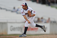 Marco Carrillo during a game against the Mississippi Braves at Smokies Park, Kodak, TN August 19, 2010. Tennessee won the game 5-4.
