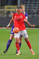 Benfica's forward Nycole Raysla Silva Sobrinho - Nycole Raysla (28) pictured during a female soccer game between RSC Anderlecht Dames and Portugese Benfica Ladies  in the second qualifying round for the Uefa Womens Champions League of the 2020 - 2021 season , Wednesday 18 th of November 2020  in ANDERLECHT , Belgium . PHOTO SPORTPIX.BE | SPP | STIJN AUDOOREN