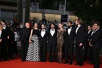 'In The Fade (Aus Dem Nichts)' Red Carpet Arrivals - The 70th Annual Cannes Film Festival<br /> CANNES, FRANCE - MAY 26: (L-R) Johannes Krisch, Samia Muriel Chancrin, Denis Moschitto, director Fatih Akin, Diane Kruger, Numan Acar and Ulrich Brandhoff attend the 'In The Fade (Aus Dem Nichts)' screening during the 70th annual Cannes Film Festival at Palais des Festivals on May 26, 2017 in Cannes, France
