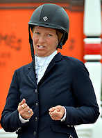 WELLINGTON, FL - APRIL 02: (EMBARGOED TILL 04/05/16)The  $130,000 SUNCAST 1.5M Classic - Round 2. The Winter Equestrian Festival (WEF) is the largest, longest running hunter/jumper equestrian event in the world held at the Palm Beach International Equestrian Center on April 2, 2016  in Wellington, Florida.<br /> <br /> <br /> People:  Beezie Madden
