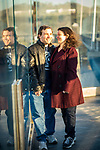 Kira and Will's Engagement Photography<br /> Mario Cuomo Bridge<br /> Tarrytown, New York