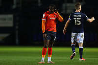 23rd February 2021; Kenilworth Road, Luton, Bedfordshire, England; English Football League Championship Football, Luton Town versus Millwall; A dejected Pelly Ruddock of Luton Town after the 1-1 draw