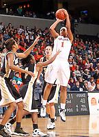 UVa women's basketball player Lyndra Littles.
