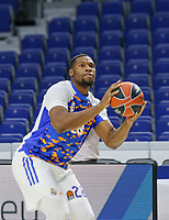 13th October 2021; Wizink Center; Madrid, Spain; Turkish Airlines Euroleague Basketball , Real Madrid versus AS Monaco; Guerschon Yabusele during warm up