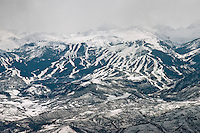 Snowmass Ski area, and Aspen, Colorado