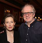 Carrie Coon and Tracy Letts attend The New York Drama Critics' Circle Awards at Feinstein's/54 Below on May 10, 2018 in New York City.