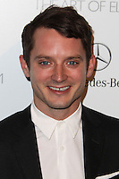 LOS ANGELES, CA - JANUARY 11: Elijah Wood at The Art of Elysium's 7th Annual Heaven Gala held at Skirball Cultural Center on January 11, 2014 in Los Angeles, California. (Photo by Xavier Collin/Celebrity Monitor)