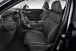 Front seat view of 2021 Hyundai Santa-FE Shine 5 Door SUV Front Seat  car photos