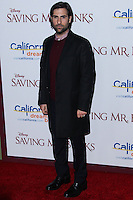 "BURBANK, CA - DECEMBER 09: Jason Schwartzman arriving at the U.S. Premiere Of Disney's ""Saving Mr. Banks"" held at Walt Disney Studios on December 9, 2013 in Burbank, California. (Photo by Xavier Collin/Celebrity Monitor)"