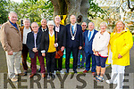 At the 50th Commemoration of Tralee Save the Green Committee on Friday evening in the Tralee town park at the unveiling of the new bench.. <br /> L to r: Lily Tangley, Eddie Jennings, Cllr: Norma Foley, Eddie Riordan, Cllr Jim Finucane (Mayor of Tralee) and Tommy Collins (Chairman)