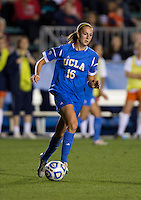 Sarah Killion. UCLA advanced on penalty kicks after defeating Virginia, 1-1, in regulation time at the NCAA Women's College Cup semifinals at WakeMed Soccer Park in Cary, NC.