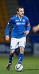 St Johnstone v St Mirren.....11.01.14   SPFL<br /> A bloodied Dave Mackay<br /> Picture by Graeme Hart.<br /> Copyright Perthshire Picture Agency<br /> Tel: 01738 623350  Mobile: 07990 594431