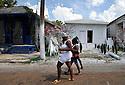 Katrina-damaged shotgun houses are part of the KK project in New Orleans, Sunday, Aug. 10, 2008..(HC Photo/Cheryl Gerber)