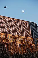 Europe/Autriche/Niederösterreich/Vienne: Cathédrale Saint-Etienne, Stephansdom, vue de la terrasse du restaurant Do&Co- toiture en tuiles vernissées