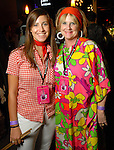 """Beth Lee and Robin Howard at the Planned Parenthood's """"Party Like a Rock Star"""" benefit at Warehouse Live Saturday Aug. 22, 2009.(Dave Rossman/For the Chronicle)"""