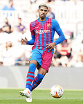 FC Barcelona's Ronald Araujo during La Liga match. August 29, 2021. (ALTERPHOTOS/Acero)